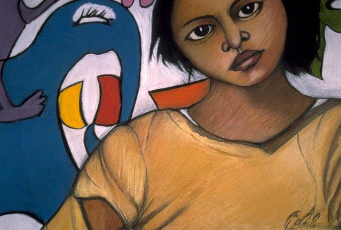 Mujer De Graffiti (Graffiti Girl)