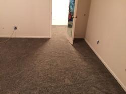 Room carpet installation