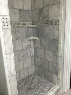 Shower with Ceramics