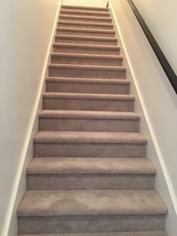 Stairs Carpet Installation