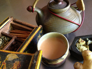 Extra Healing With Chai Tea