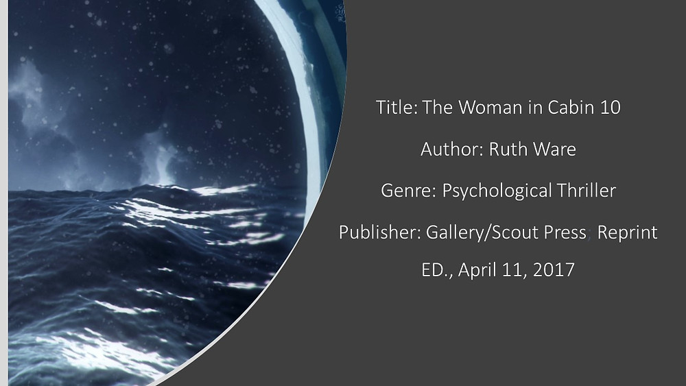 The Woman in Cabin 10 Book Details 5