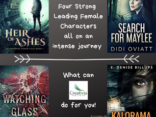 STRONG LEADING FEMALE CHARACTERS