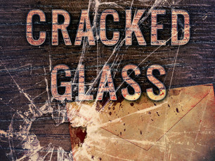 Cover Reveal: James J. Cudney's, Hiding Cracked Glass