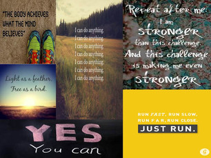 Mind play: Running Mantras