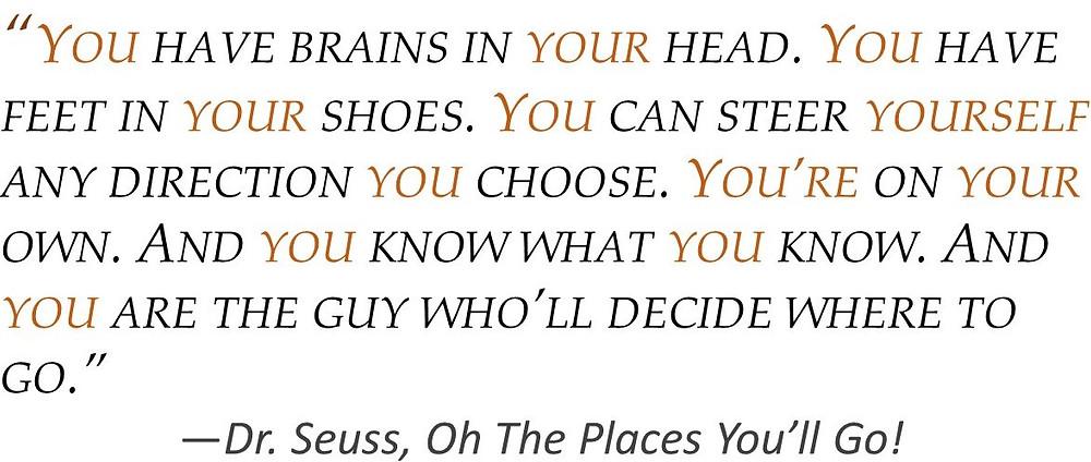 POV Post - Second Person sentence Dr. Seuss