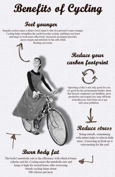 Burout article Audrey Hepburn on bike