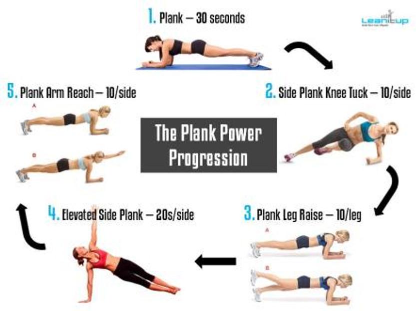 Plank circular diagram