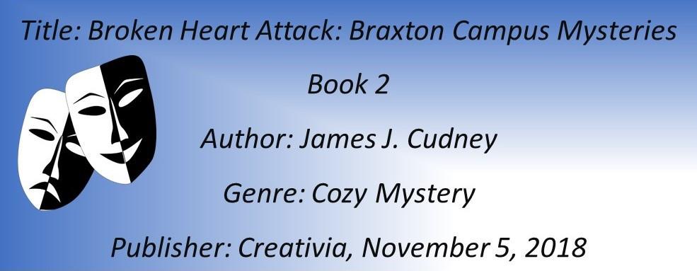James Cudney Broken HEart Attack Book Details