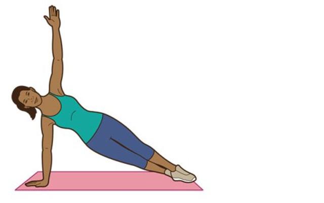 Plank - side plank