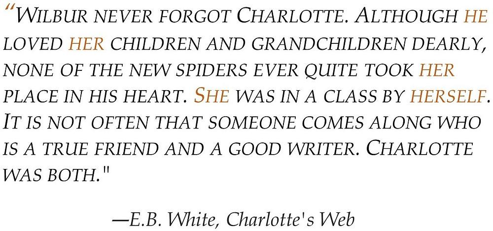 POV Post - Third Person Omniscient E.B. White