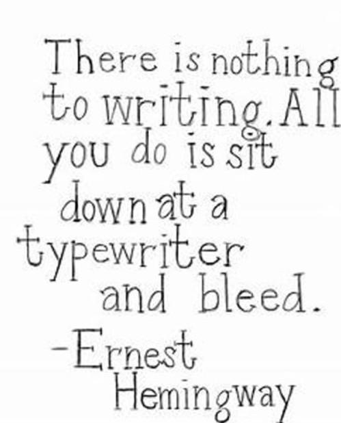 Ernest Hemingway Quote