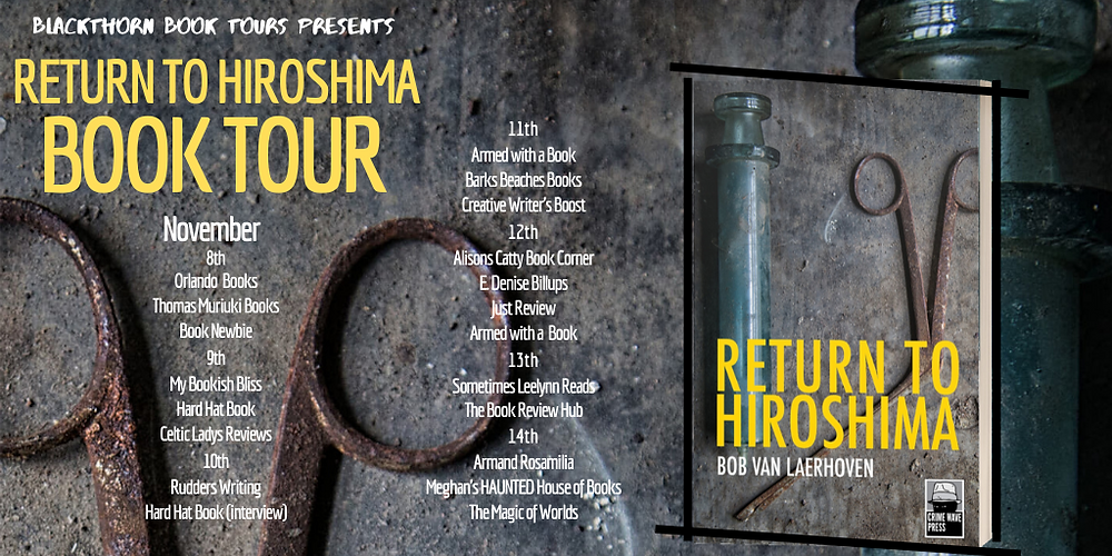 Return to Hiroshima Book Blog Tour Banner