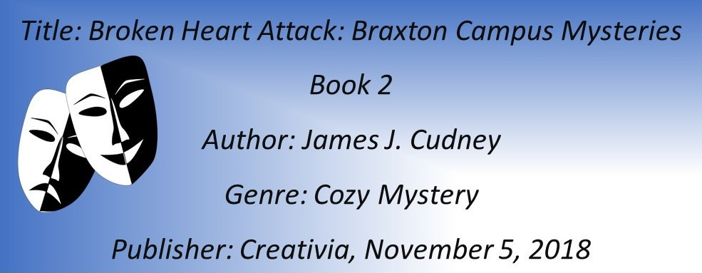 James Cudney Broken HEart Attack Book Details