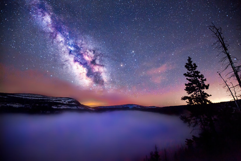 Misty Milky Way