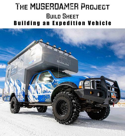 The MUSEROAMER Project Build Sheet