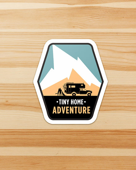 Tiny Home Adventure Sticker