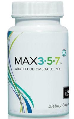 Max 3-5-7 (omega) 120 capsules