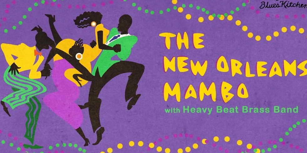 NEW ORLEANS MAMBO WITH HEAVY BEAT BRASS BAND