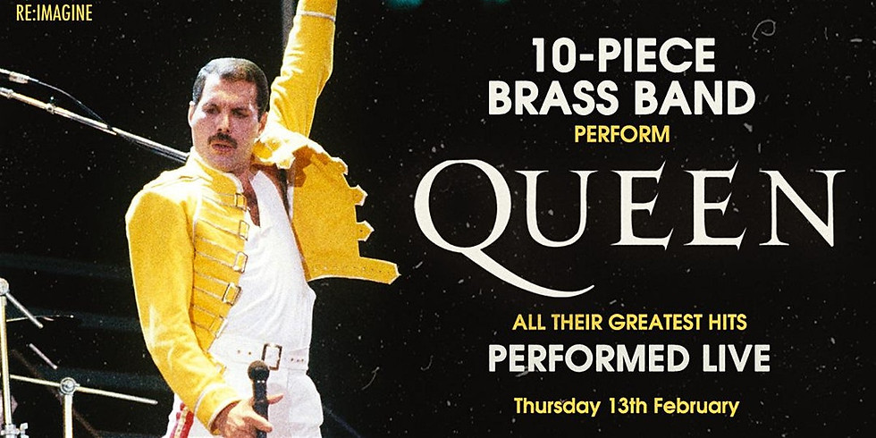 Queen's Greatest Hits - Performed Live by Heavy Beat Brass Band