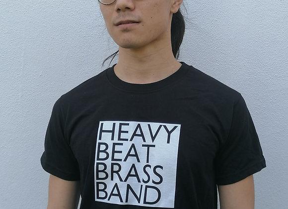 Heavy Beat Brass Band Logo Black T-Shirt