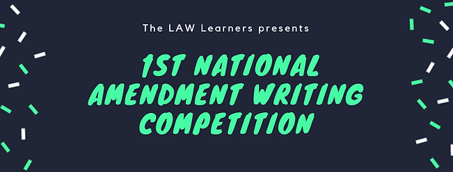 TLL 1st National Amendment Writing Compe