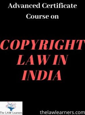 Copyright act course