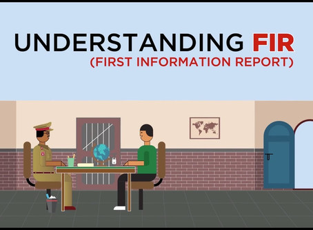 All about the First Information Report