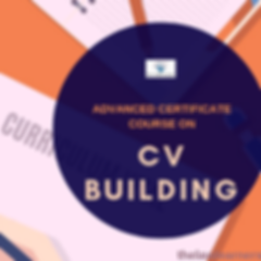 Certificate Course on CV Building