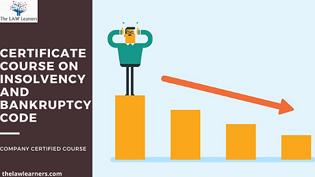 INSOLVENCY AND BANKRUPTCY CODE COURSE.pn