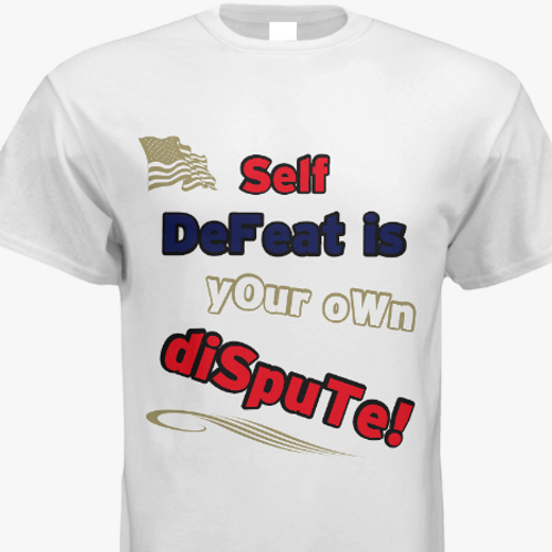 """""""Self Defeat"""" T Olympic"""