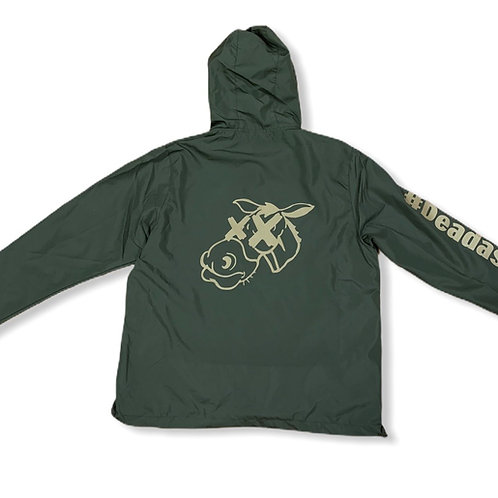 Deadass Windbreaker Olive N Gold