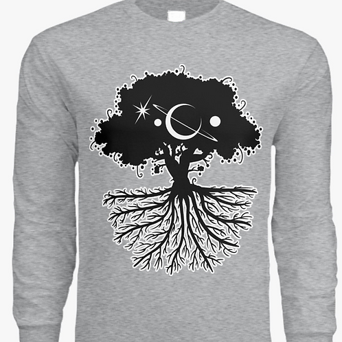 """""""Galactic Roots"""" Long Sleeve T"""