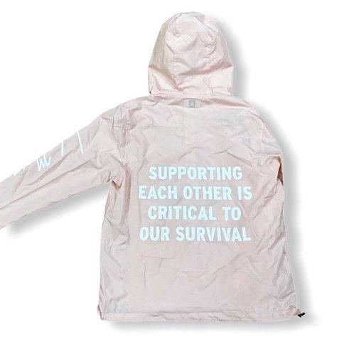 """""""Support"""" Windbreaker Womens"""
