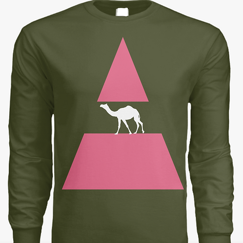 """Camel-Pyramid"" Long Sleeve T"