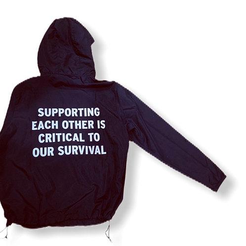 """""""Support"""" Windbreaker"""