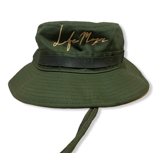 Lifemajor Script Bucket Hat