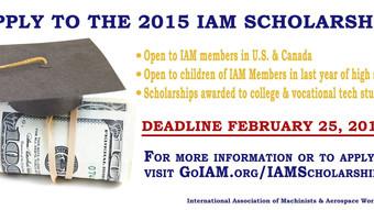 IAM Scholarship Deadline is Fast Approaching