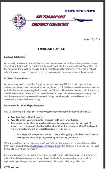 ExpressJet Update