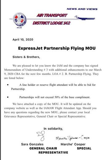 Partnership Flying