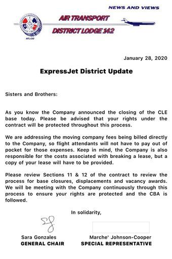 Cleveland Base Closure