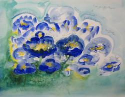 2019名前のない青い花、あるいは名を失った青い花