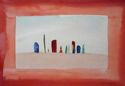 2011赤い枠の風景