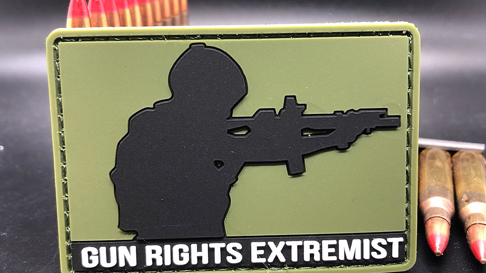 PVC Gun Rights Extremist Patch