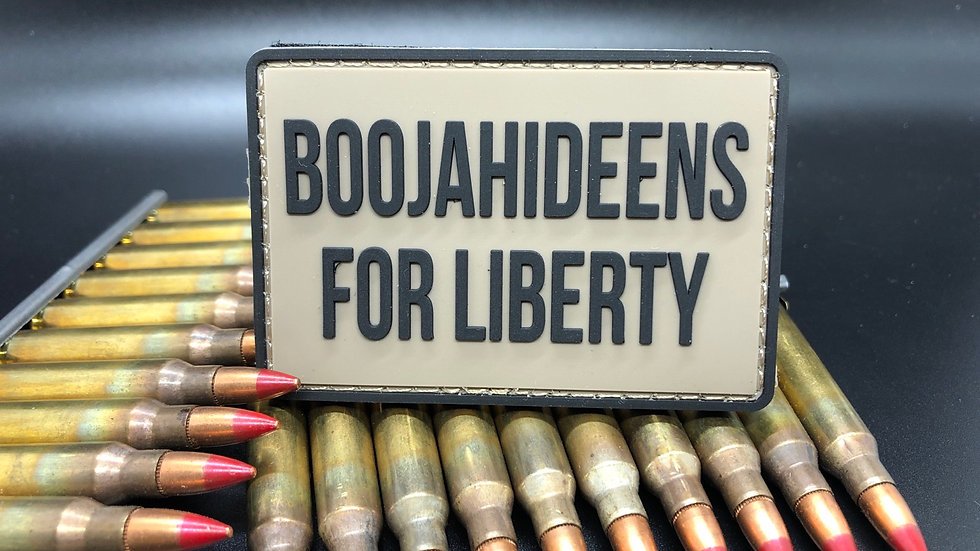 Boojahideens for Liberty Patch