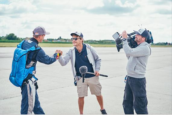 Markus Büttner mgo-media Working @ Red Bull Air Race