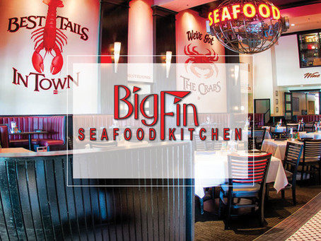 Big Fin™ Seafood Kitchen Celebrates 10 Years and Renews Lease for High Profile Sand Lake Location