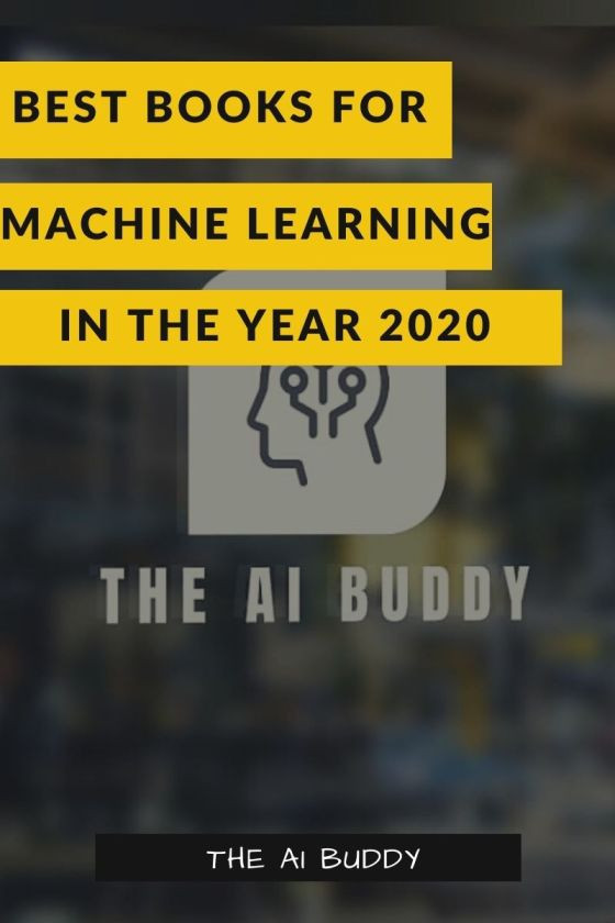 Best Machine Learning Books in 2020