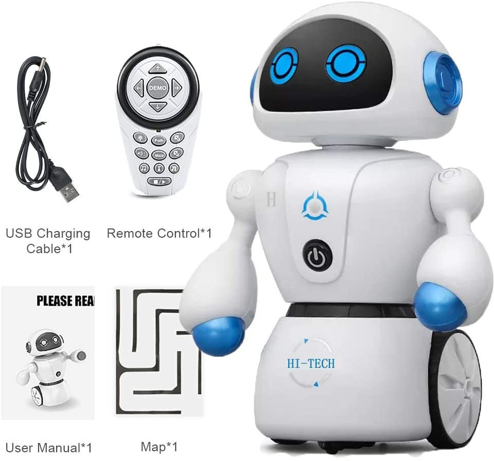 Hi-TECH Wireless Interactive Robot