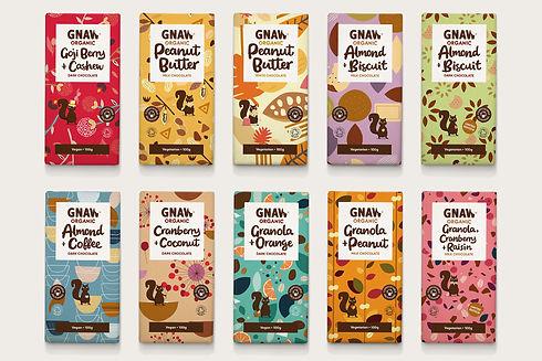 GNAW CHOCOLATE ORGANIC DUBAI